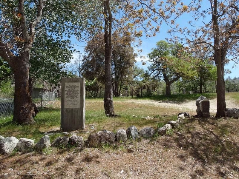 First Catholic Church and Cemetery in Kern County Marker. image. Click for full size.