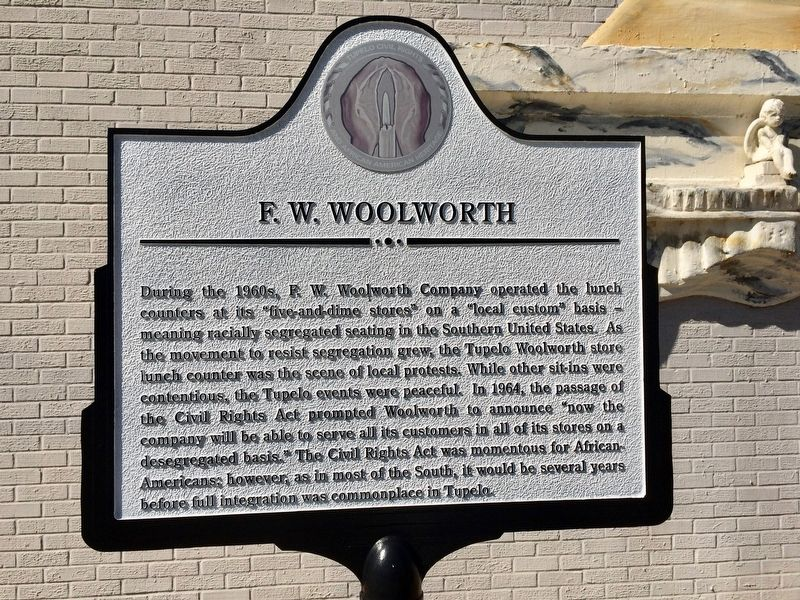 F.W. Woolworth Marker image. Click for full size.