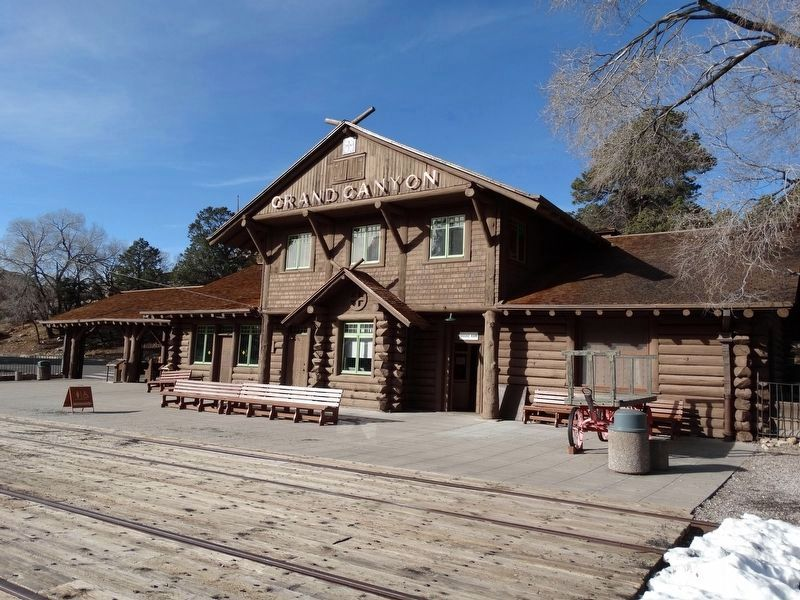 Grand Canyon Depot image. Click for full size.