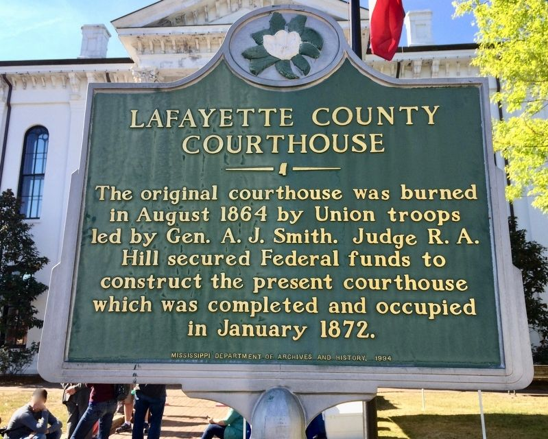Lafayette County Courthouse Marker image. Click for full size.
