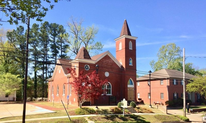 Former Burns Church (Now the Burns-Belfry Museum and Multicultural Center) image. Click for full size.