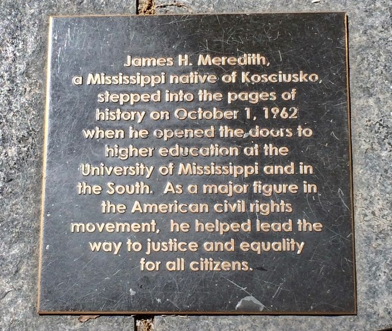 Civil Rights Monument Marker image. Click for full size.
