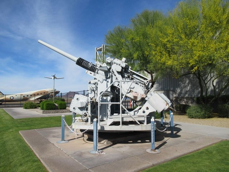 3-Inch Mark 33 Deck Gun image. Click for full size.