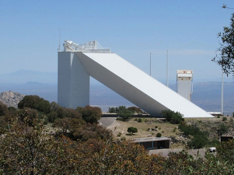 The McMath Solar Telescope image. Click for full size.
