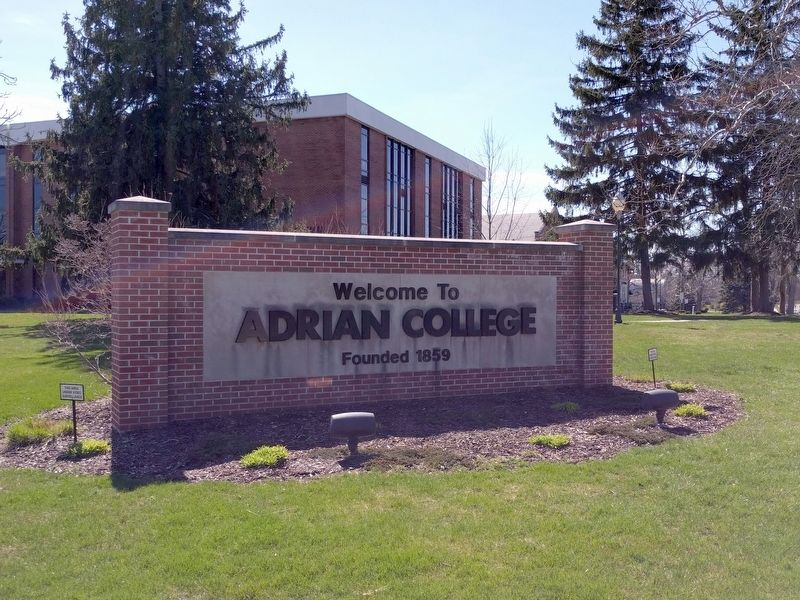 Adrian College image. Click for full size.