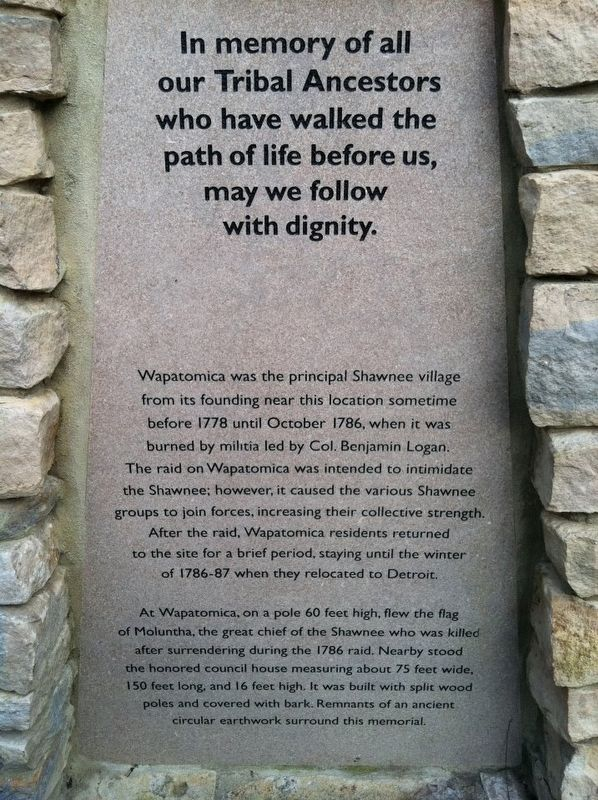 Wapatomica Marker image. Click for full size.