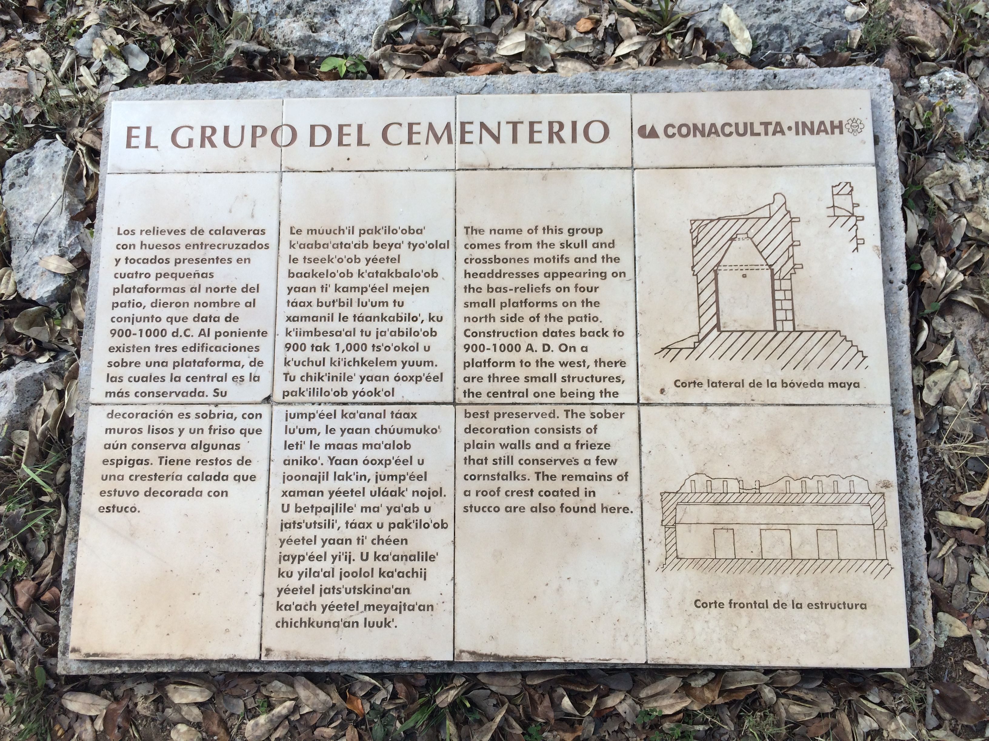 The Cemetery Group Marker