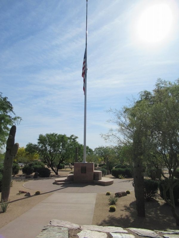 National Memorial Cemetery of Arizona Marker image. Click for full size.