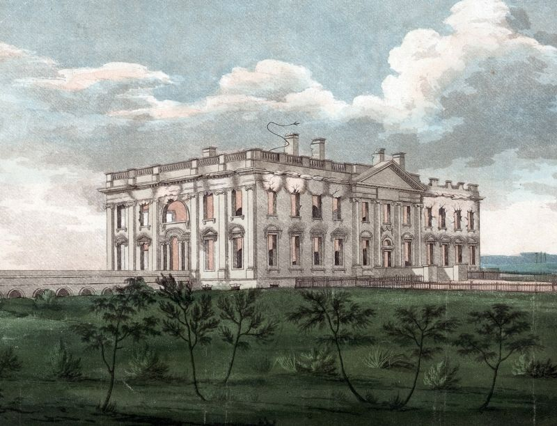 The Shell of the President's House image. Click for full size.