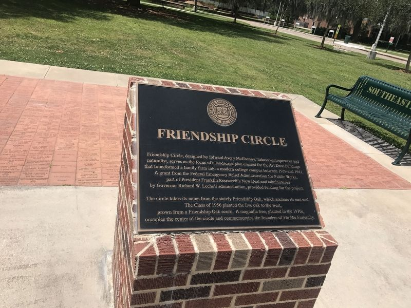 Friendship Circle Marker image. Click for full size.