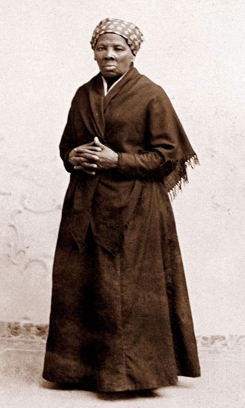 Harriet Tubman (born Araminta Ross) image. Click for full size.
