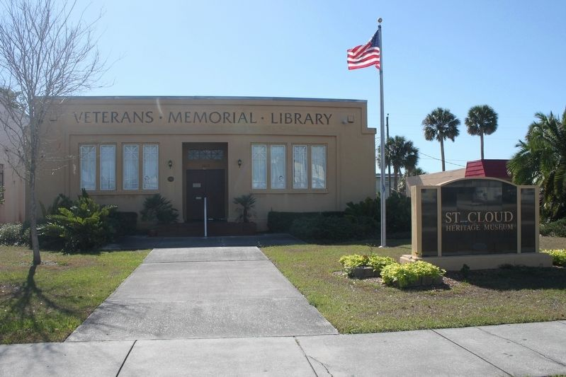 Veterans Memorial Library image. Click for full size.