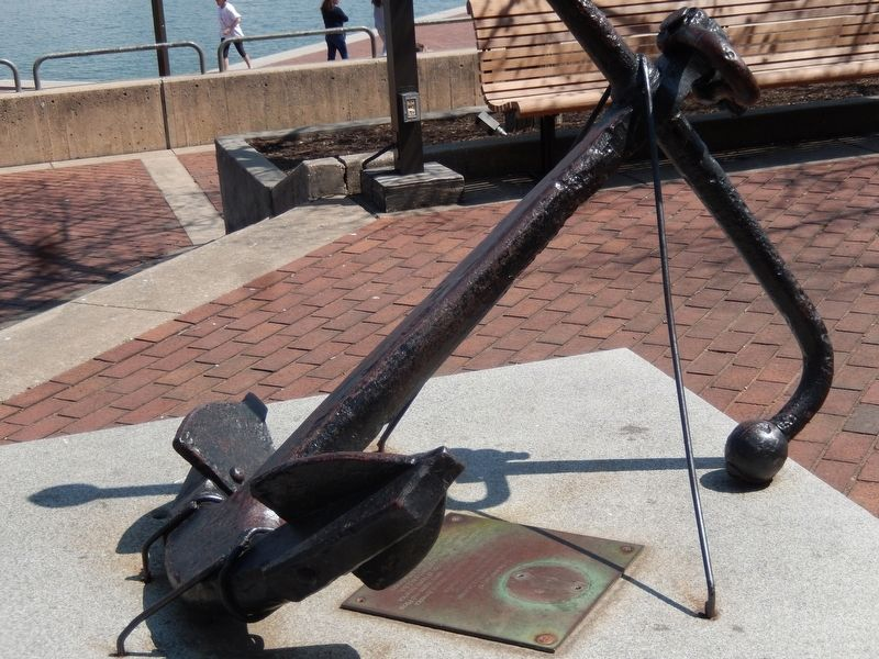 United States Merchant Seamen Memorial Marker image. Click for full size.