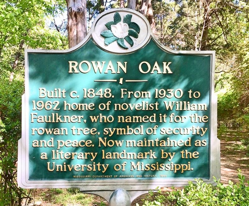 Rowan Oak Marker image. Click for full size.