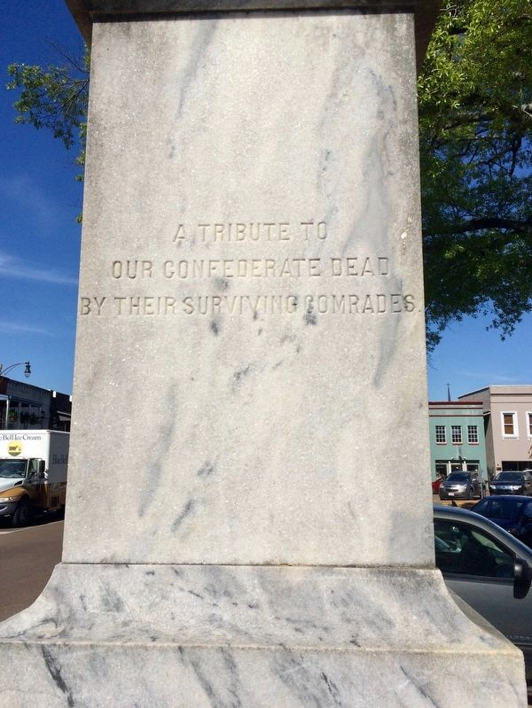 Lafayette County Confederate Monument (East side) image. Click for full size.