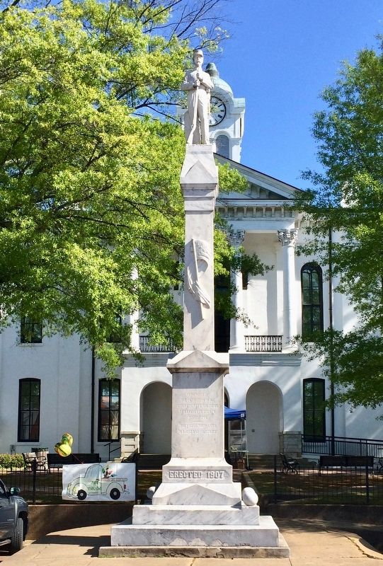 Lafayette County Confederate Monument image. Click for full size.