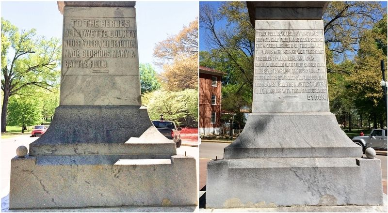 Monument south and west sides. image. Click for full size.