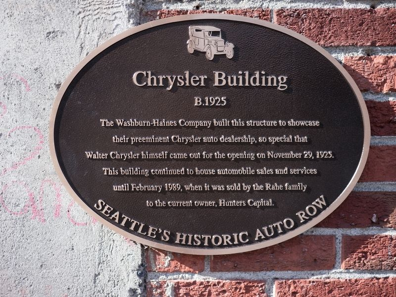 Chrysler Building Marker image. Click for full size.