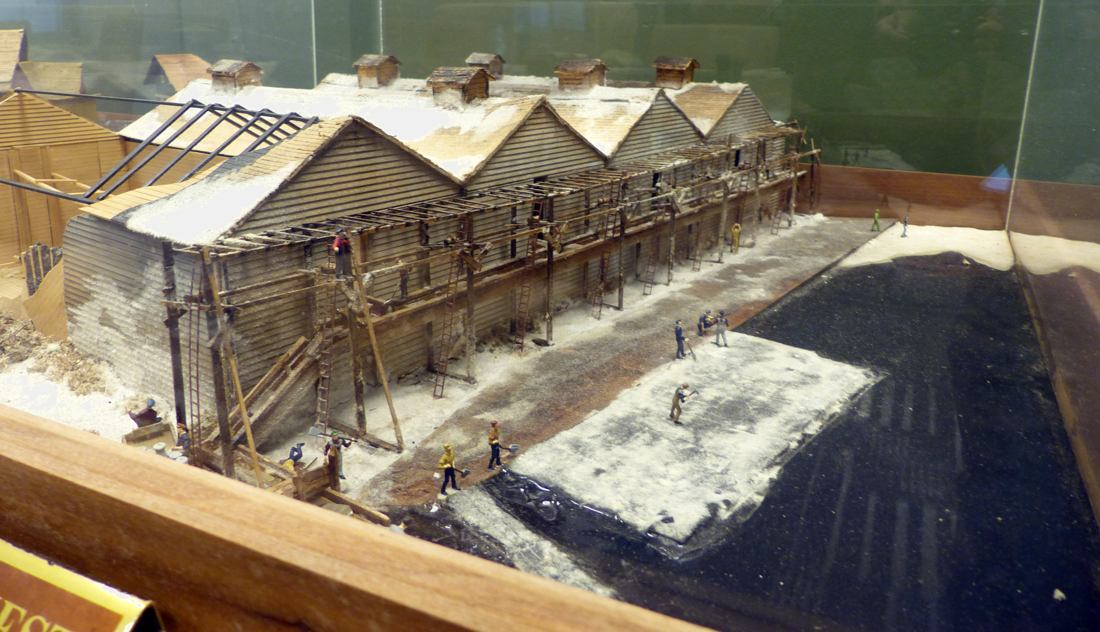The Ice Harvest Lake Royer<br>Diorama at Fort Ritchie Community Center