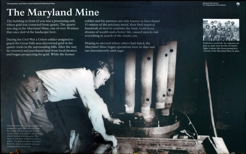 The Maryland Mine Marker image. Click for full size.