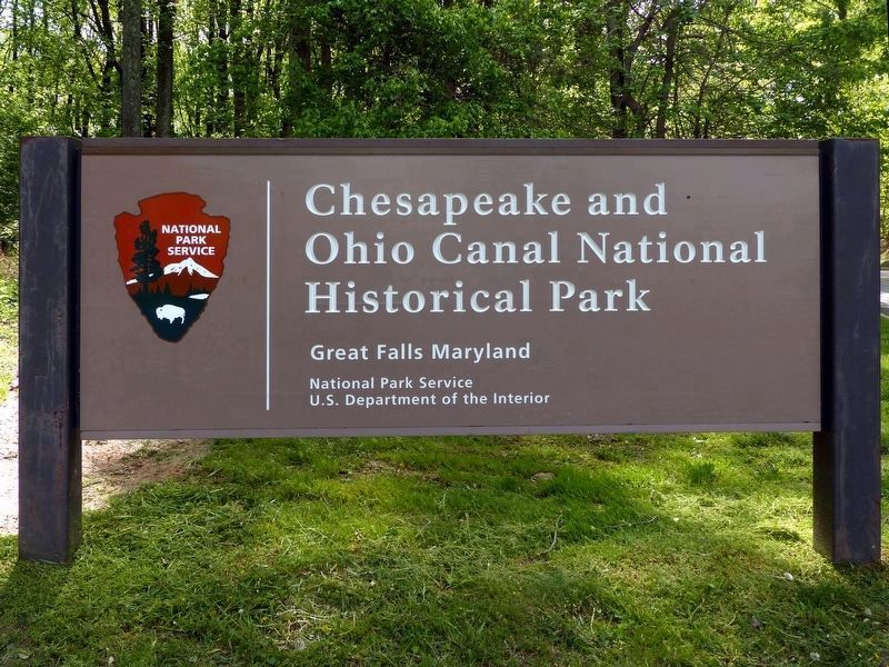 Chesapeake and Ohio Canal National Historical Park<br>Great Falls Maryland image. Click for full size.