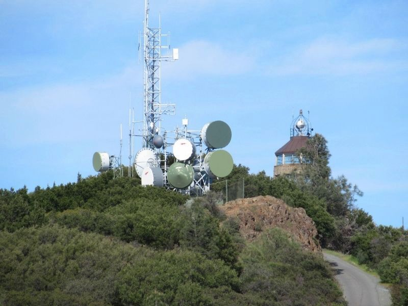 The Mount Diablo Summit Building image. Click for full size.