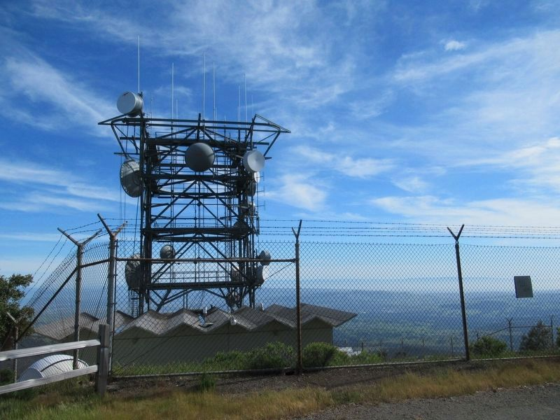 Another Antenna Tower Near the Summit image. Click for full size.