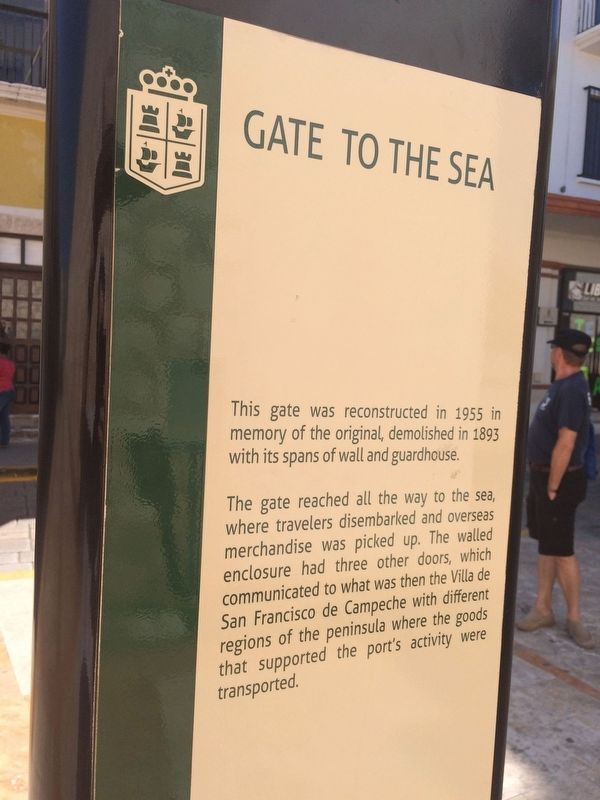 Gate to the Sea Marker image. Click for full size.
