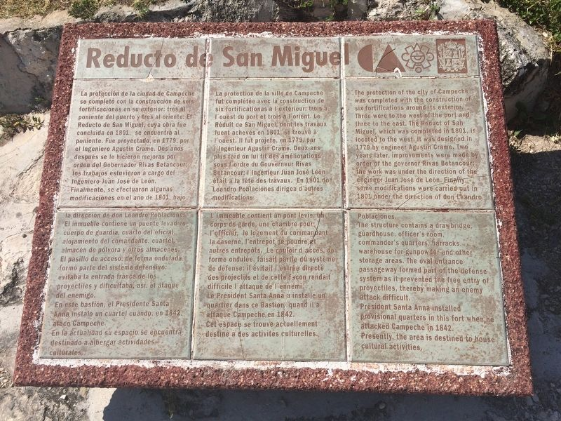 The Redoubt of San Miguel Marker image. Click for full size.