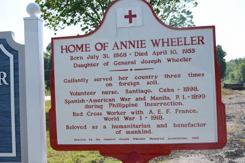 Home of Annie Wheeler Marker (New Marker) image. Click for full size.