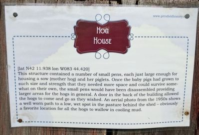 Hog House Marker image. Click for full size.