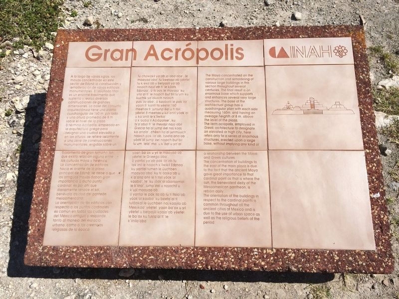 The Great Acropolis Marker image. Click for full size.
