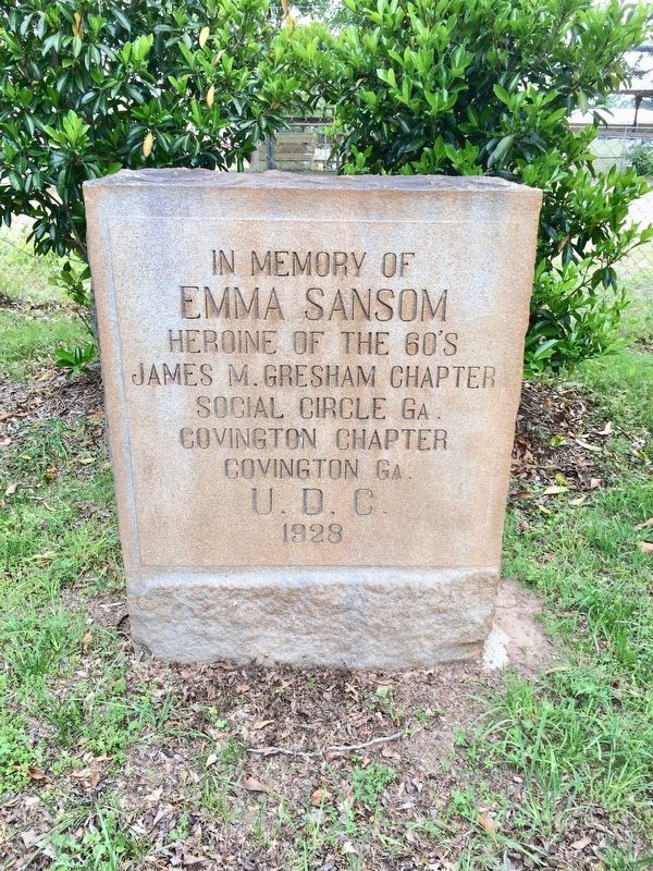 In Memory of Emma Sansom Monument image. Click for full size.