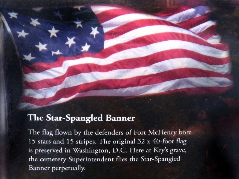 The Star Spangled Banner image. Click for full size.