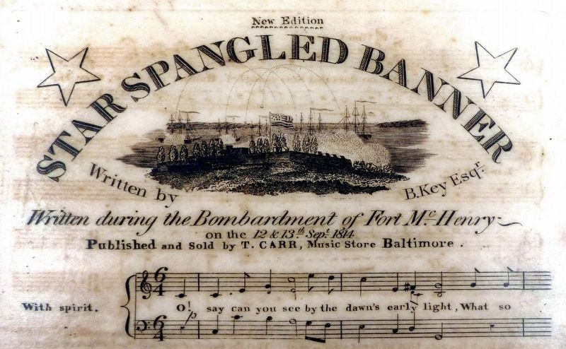 Star Spangled Banner image. Click for full size.