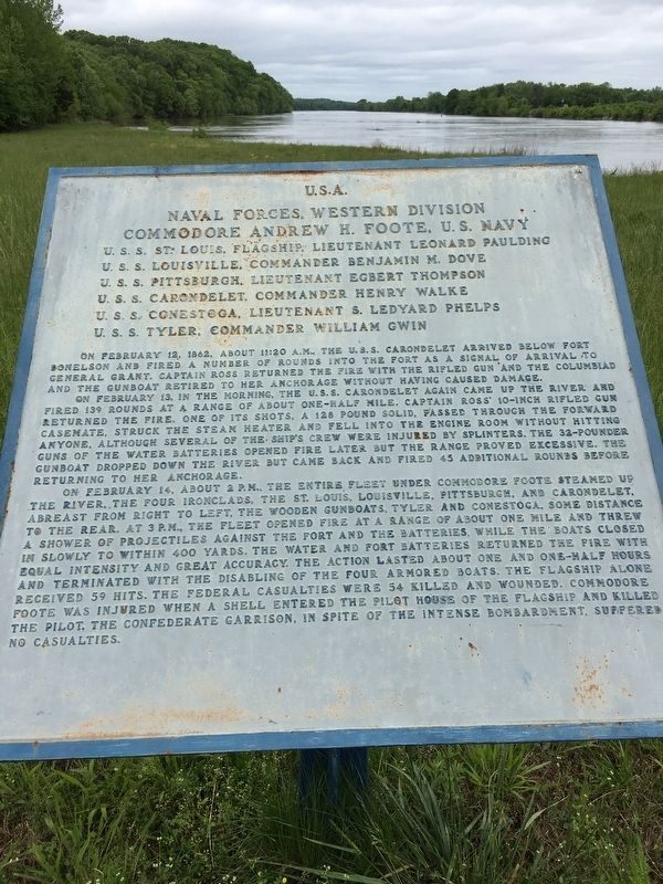 U.S.A. Naval Forces, Western Division Marker image. Click for full size.