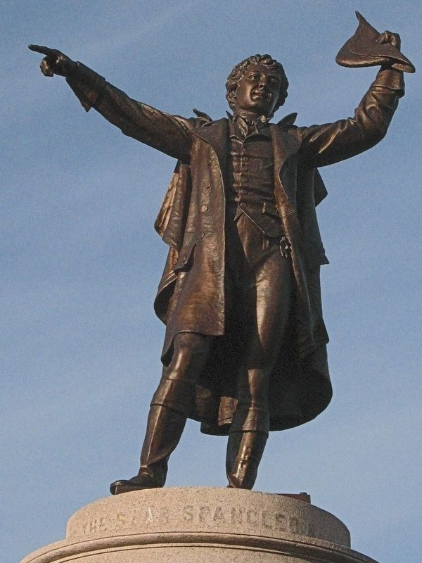 Francis Scott Key image. Click for full size.