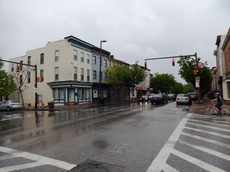Caskey Square-Washington Blvd and Scott Street image. Click for full size.