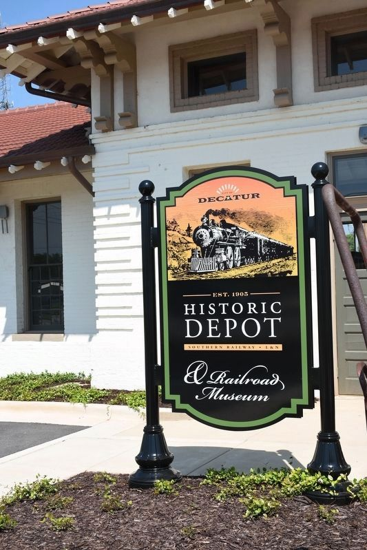 Historic Depot & Railroad Museum image. Click for full size.