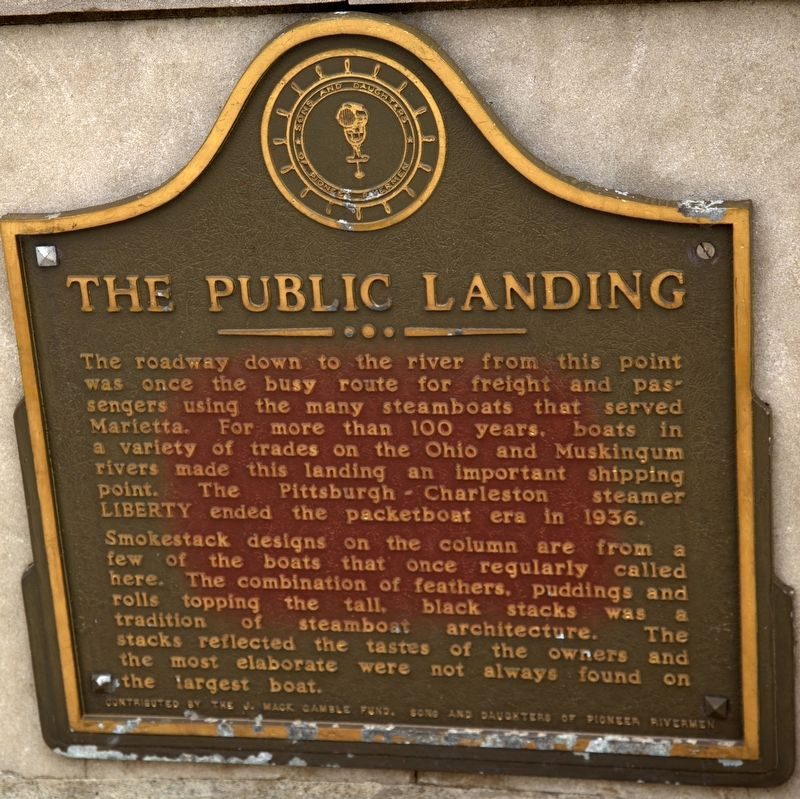 The Public Landing Marker image. Click for full size.