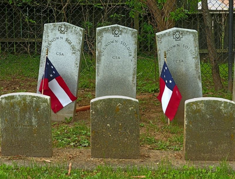 Three Unknown Confederates image. Click for full size.