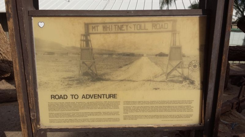 Road To Adventure Marker image. Click for full size.