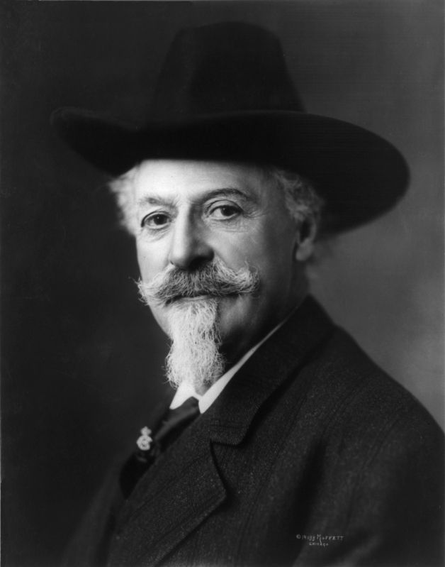 "William Frederick ""Buffalo Bill"" Cody (1846–1917) image. Click for full size."