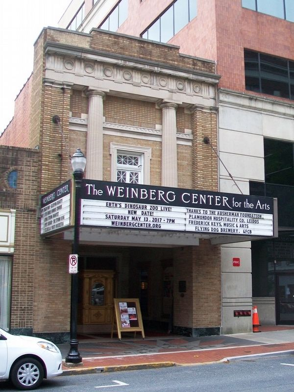 The Weinberg Center and Markers image. Click for full size.