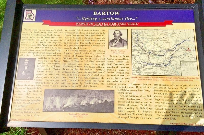 Bartow Marker image. Click for full size.