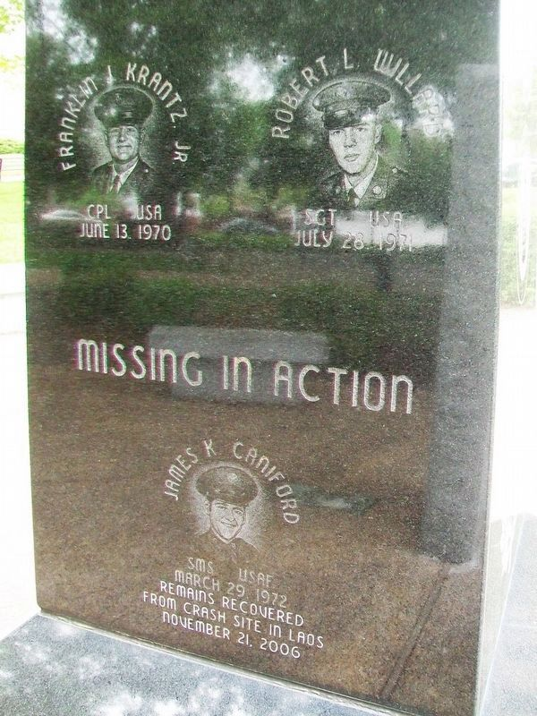 Frederick County Vietnam Veterans Memorial Honored Dead image. Click for full size.