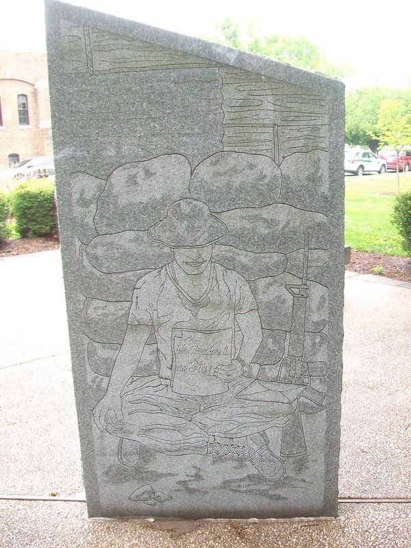 Frederick County Vietnam Veterans Memorial Marker image. Click for full size.