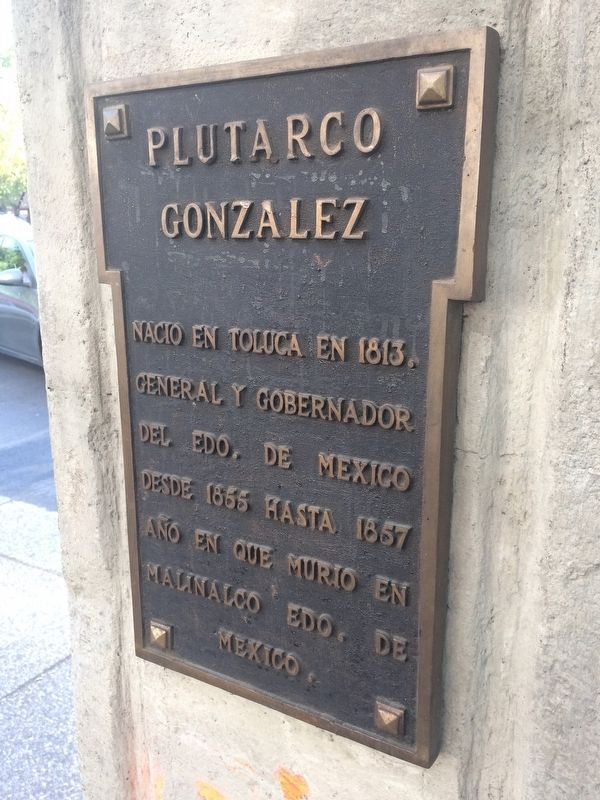 Plutarco González Marker image. Click for full size.