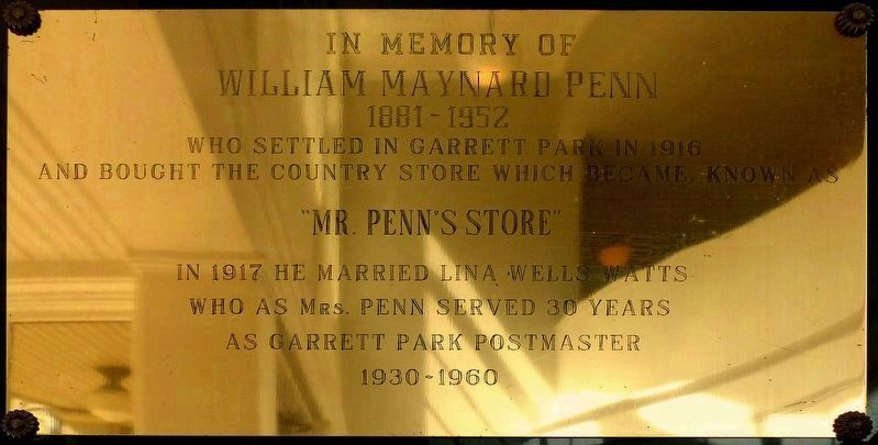 William Marynard Penn image. Click for full size.