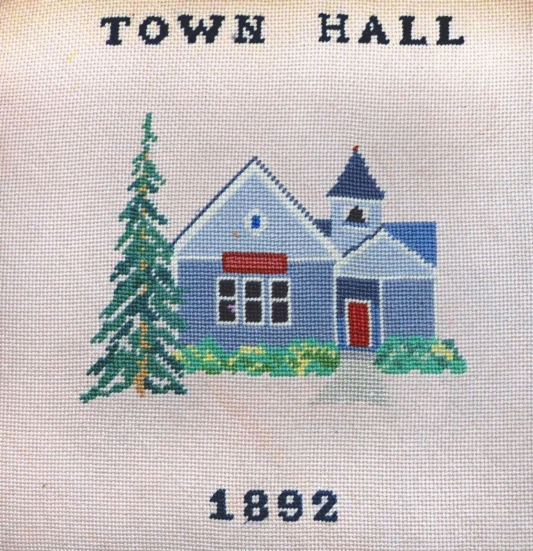 Town Hall, 1892 image. Click for full size.
